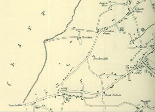 1834 map of GH Capture LHS Capture