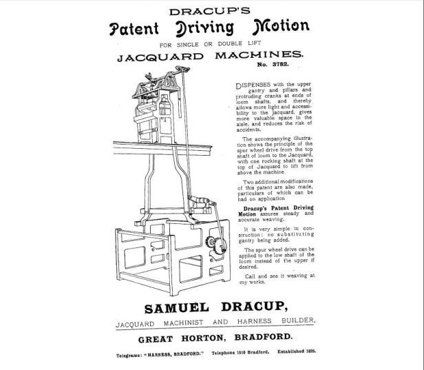 Samuel Dracup advert Capture