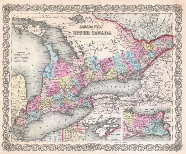 1855_Colton_Map_of_Upper_Canada_or_Ontario_-_Geographicus_-_Ontario2-colton-1855