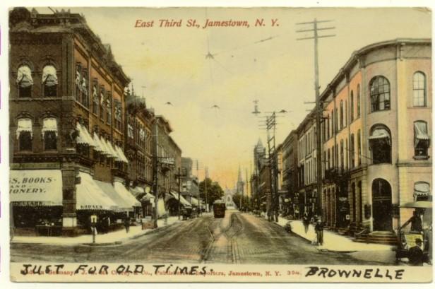 PostcardEast3rdStJamestownNY1906