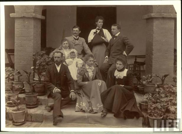 British family during the Raj