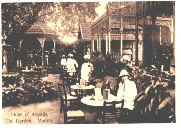 A Madras hotel in 1906