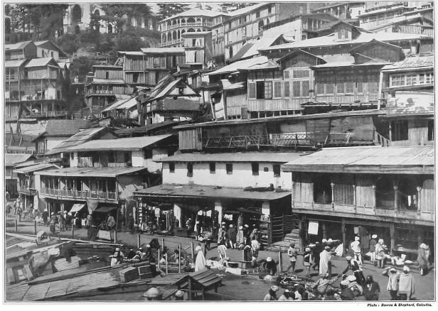 Simla bazaar