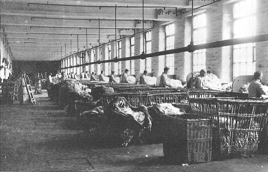 Woolsorters at Saltaire mills